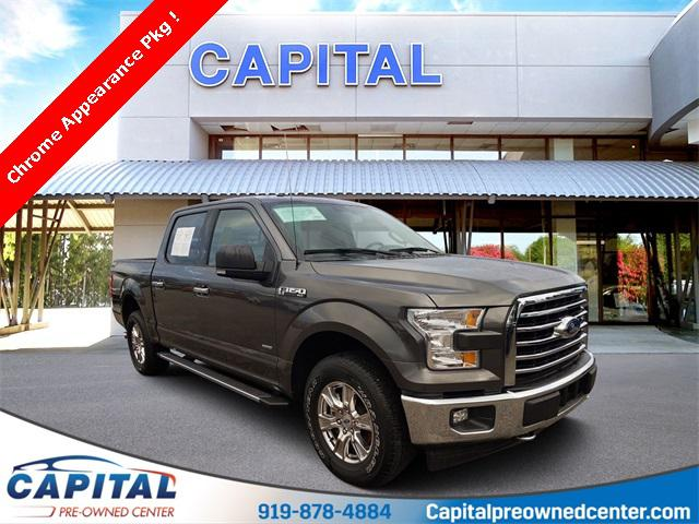 2017 Ford F-150 XLT 4D SuperCrew Slide 0