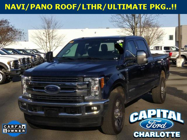 Blue Jeans Metallic 2017 Ford F-250SD LARIAT 4D Crew Cab Charlotte NC