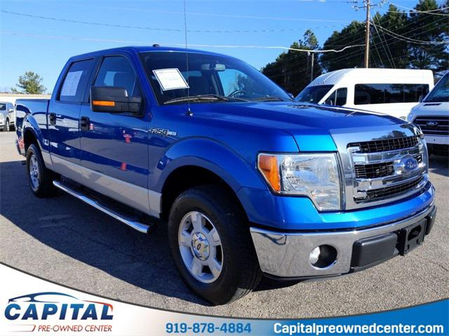 Blue Flame Metallic 2014 Ford F-150 XLT 4D SuperCrew Mooresville NC
