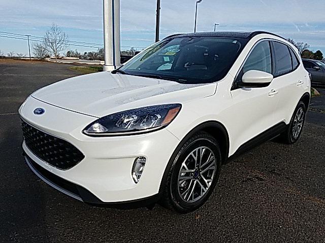 White 2020 Ford Escape SEL 4D Sport Utility Lexington NC