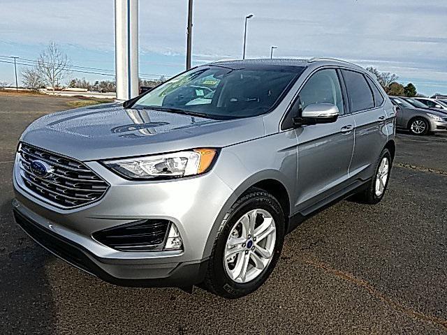 Iconic Silver Metallic 2020 Ford Edge SEL 4D Sport Utility Lexington NC