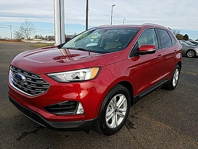 Red 2020 Ford Edge SEL 4D Sport Utility Lexington NC