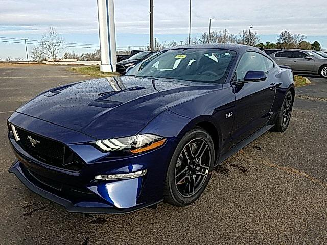 Kona Blue Metallic 2020 Ford Mustang GT 2D Coupe Lexington NC