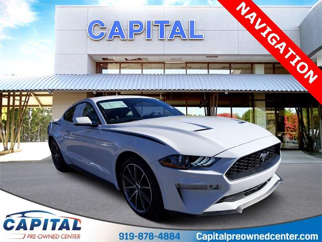 2019 Ford Mustang ECOBOOST PREMIUM 2D Coupe Slide