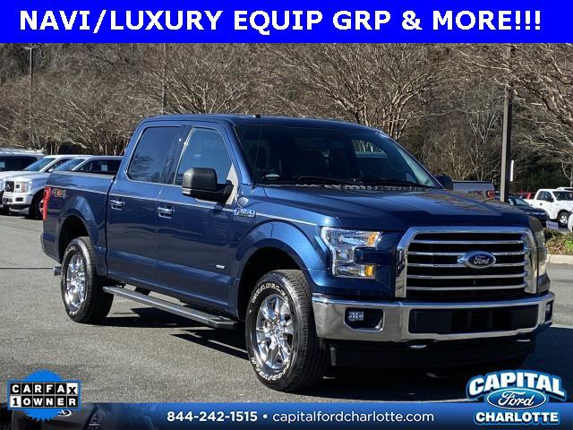 Blue Jeans Metallic 2017 Ford F-150 XLT 4D SuperCrew Charlotte NC