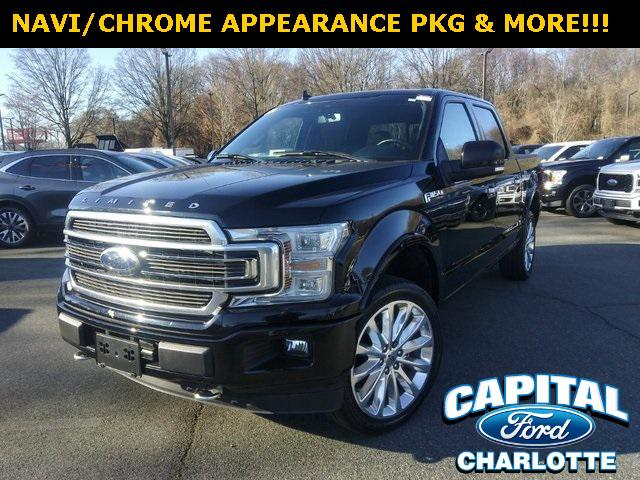 Shadow Black 2018 Ford F-150 LIMITED 4D SuperCrew Charlotte NC