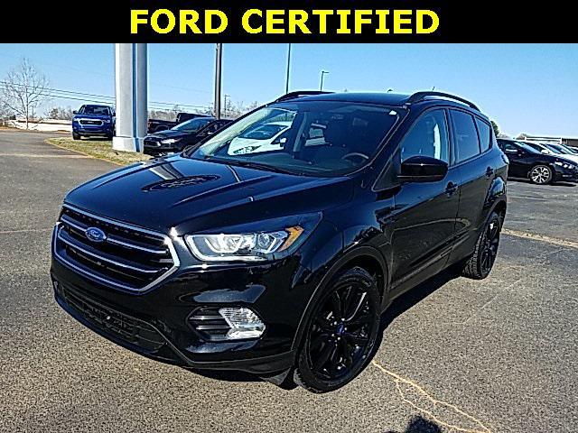 Shadow Black 2017 Ford Escape SE 4D Sport Utility Lexington NC