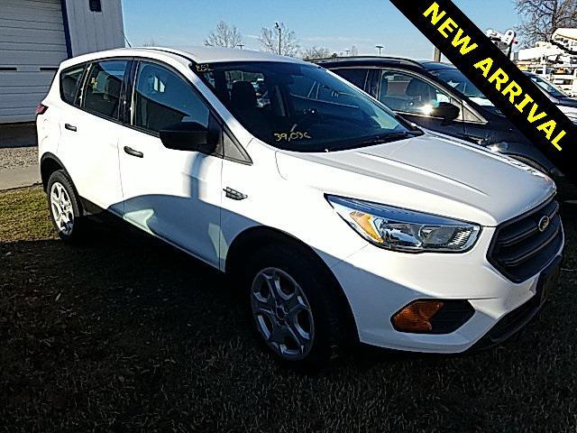 Oxford White 2017 Ford Escape S 4D Sport Utility Lexington NC