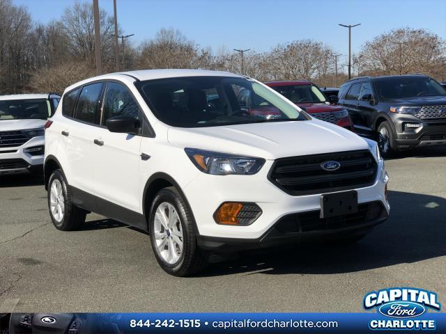 Oxford White 2019 Ford Escape S 4D Sport Utility Charlotte NC