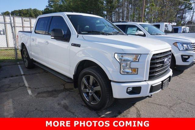 Oxford White 2016 Ford F-150 XLT Crew Pickup Rocky Mount NC