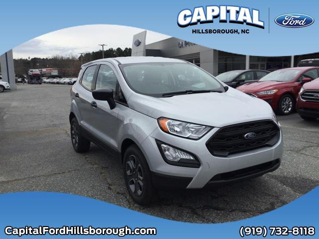 Moondust Silver Metallic 2020 Ford Ecosport S SUV Wilmington NC