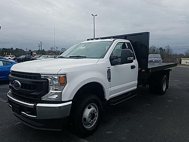 Oxford White 2020 Ford F-350SD XL 12FT FLAT DUMP Flat  Bed Lexington NC
