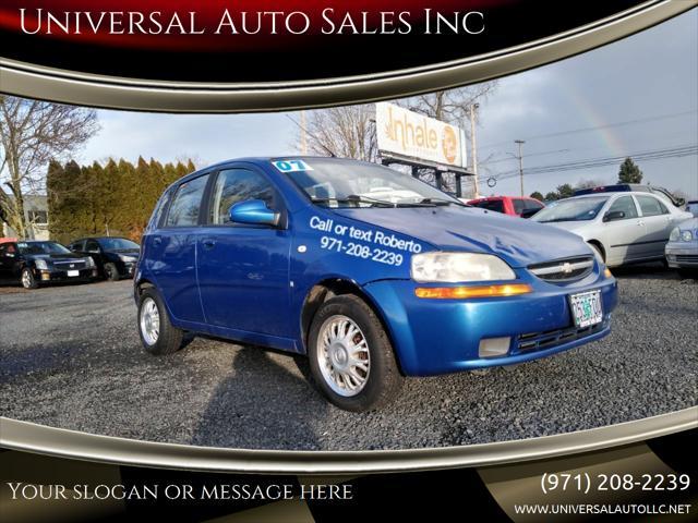 2007 Chevrolet Aveo SVM for sale in Salem, OR
