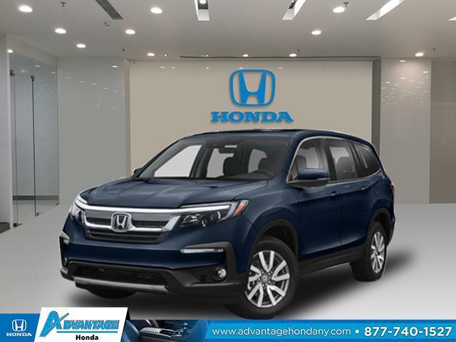 Obsidian Blue Pearl 2020 Honda Pilot EX-L SUV Huntington NY