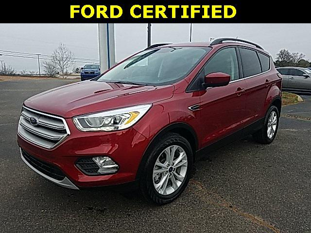 Ruby Red Metallic Tinted Clearcoat 2019 Ford Escape SEL 4D Sport Utility Lexington NC