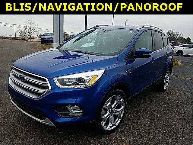 2017 Ford Escape TITANIUM 4D Sport Utility Slide