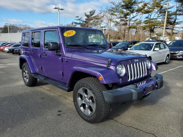 Xtreme Purple Pearlcoat 2017 Jeep Wrangler Unlimited SAHARA SUV