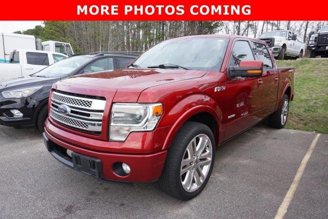 Ruby Red Metallic Tinted Clearcoat 2013 Ford F-150 LIMITED Crew Pickup Rocky Mount NC