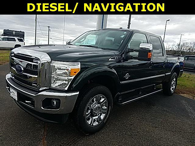 Green Gem Metallic 2016 Ford F-250SD LARIAT 4D Crew Cab Lexington NC