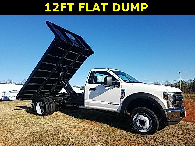 Oxford White 2019 Ford F-450SD XL/XLT 12 FT FLAT BED Lexington NC