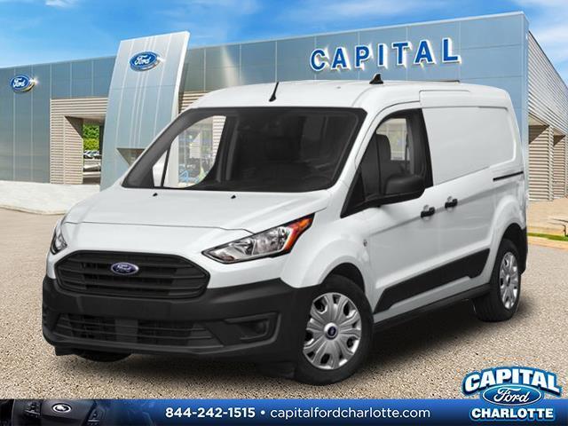 Frozen White 2020 Ford Transit Connect Van XL 4D Cargo Van Charlotte NC
