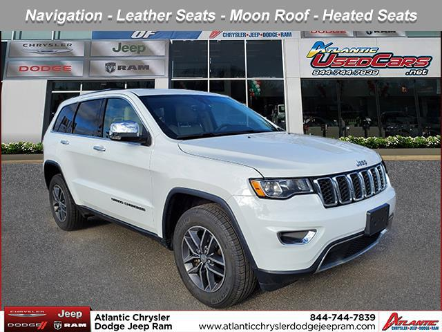 Bright White Clearcoat 2017 Jeep Grand Cherokee LIMITED SUV Huntington NY