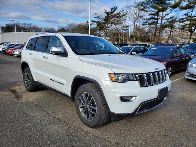 Bright White Clearcoat 2017 Jeep Grand Cherokee LIMITED SUV