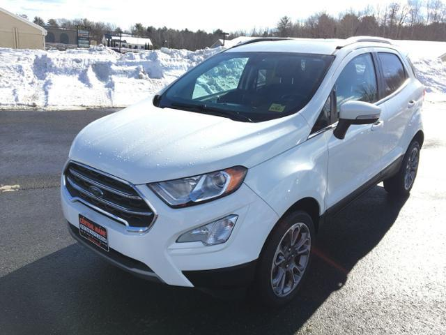 2019 Ford EcoSport Titanium for sale in Waterville, ME