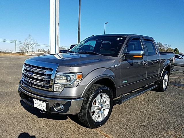 Sterling Gray Metallic 2013 Ford F-150 Lariat 4D SuperCrew Winston-Salem NC
