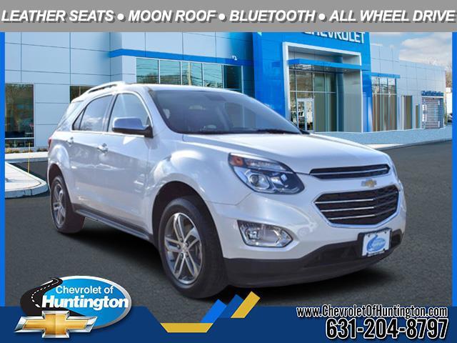 Wh 2017 Chevrolet Equinox PREMIER SUV Huntington NY