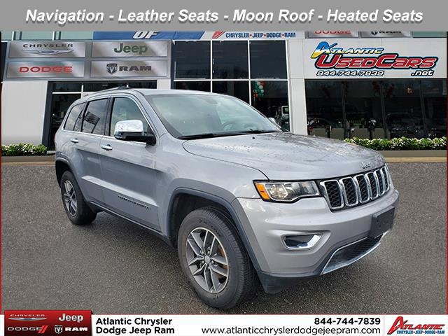 Billet Silver Metallic Clearcoat 2018 Jeep Grand Cherokee Limited SUV Huntington NY