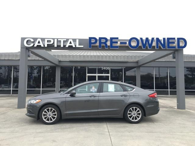 Gray 2017 Ford Fusion SE 4dr Car Wilmington NC
