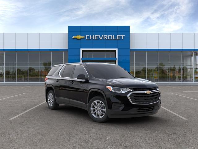 Black Metallic 2020 Chevrolet Traverse LS SUV Huntington NY