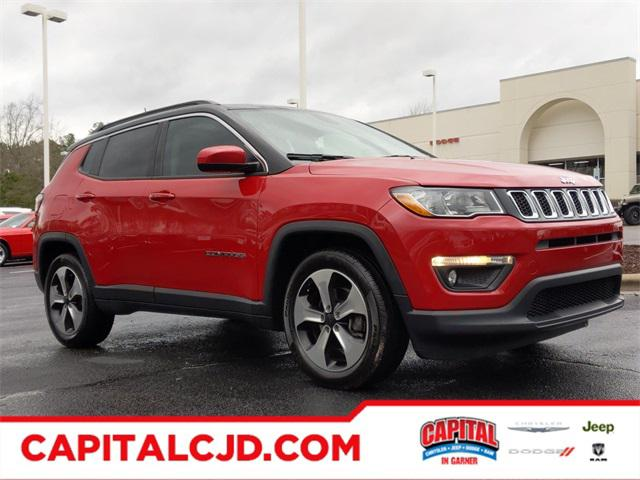 Red Line 2018 Jeep Compass LATITUDE SUV Garner NC