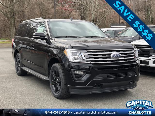 Agate Black 2020 Ford Expedition Max XLT 4D Sport Utility Charlotte NC