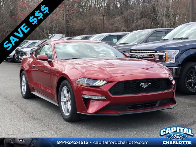 Rapid Red Metallic Tinted Clearcoat 2020 Ford Mustang ECOBOOST 2D Coupe Charlotte NC