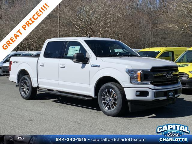 Oxford White 2020 Ford F-150 XLT 4D SuperCrew Charlotte NC