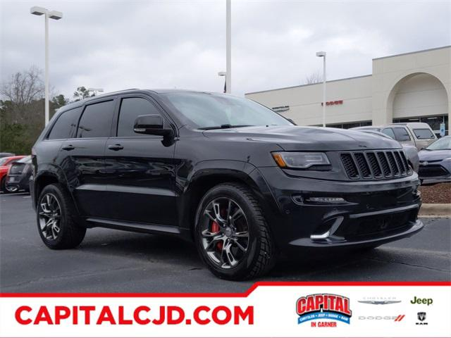 Brilliant Black Crystal Pearlcoat 2015 Jeep Grand Cherokee SRT SUV Garner NC
