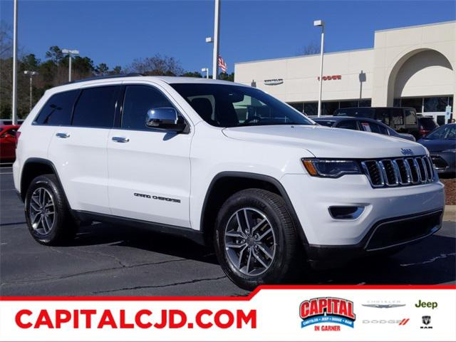 Bright White Clearcoat 2019 Jeep Grand Cherokee Limited SUV Lexington NC