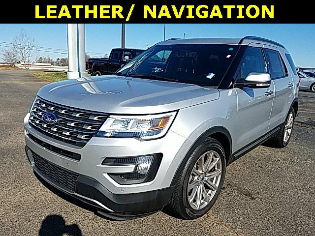 Ingot Silver Metallic 2016 Ford Explorer LIMITED 4D Sport Utility Lexington NC