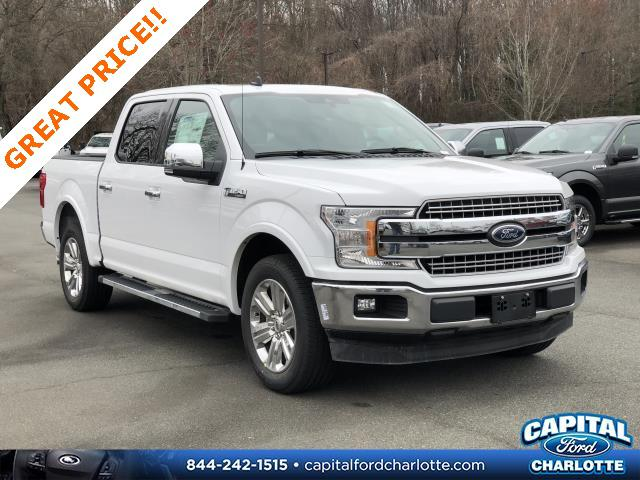 Oxford White 2020 Ford F-150 LARIAT 4D SuperCrew Charlotte NC