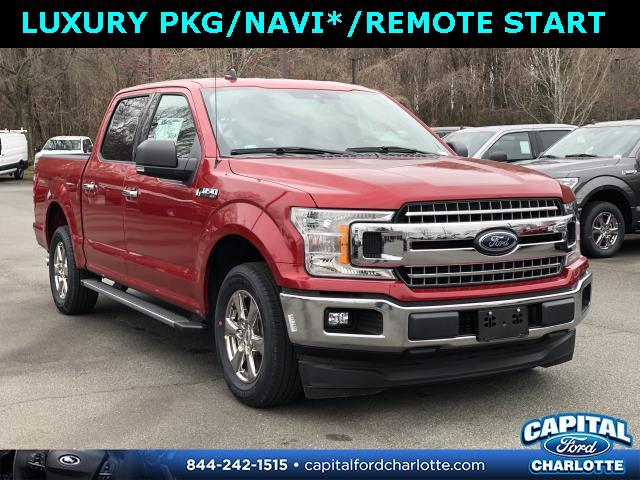 Rapid Red Metallic Tinted Clearcoat 2020 Ford F-150 XLT 4D SuperCrew Charlotte NC
