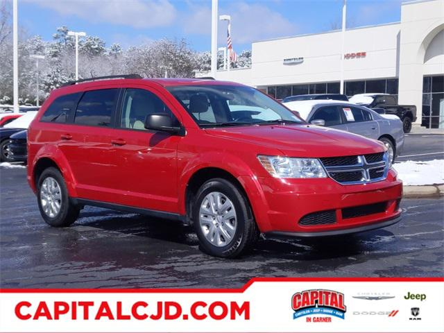 Red Line 2017 Dodge Journey SE SUV Garner NC