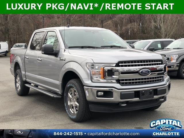 Iconic Silver Metallic 2020 Ford F-150 XLT 4D SuperCrew Charlotte NC