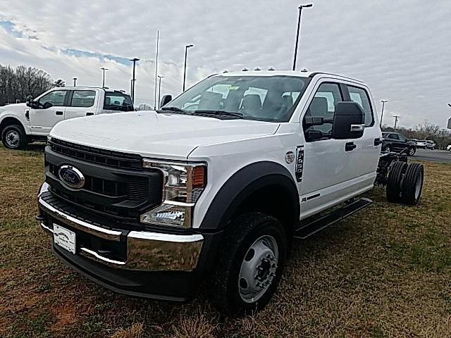 Oxford White 2020 Ford F-450SD XL 4D Crew Cab Lexington NC