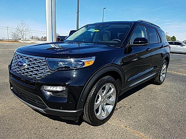 Agate Black Metallic 2020 Ford Explorer PLATINUM 4D Sport Utility Lexington NC