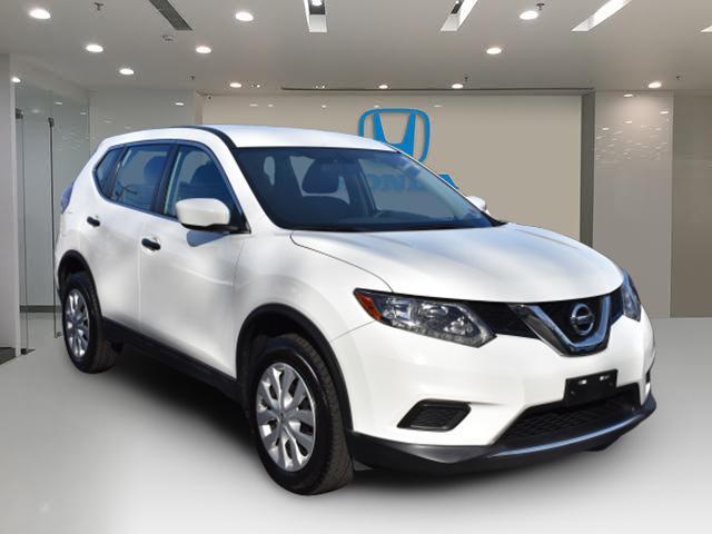 Glacier White 2016 Nissan Rogue S SUV