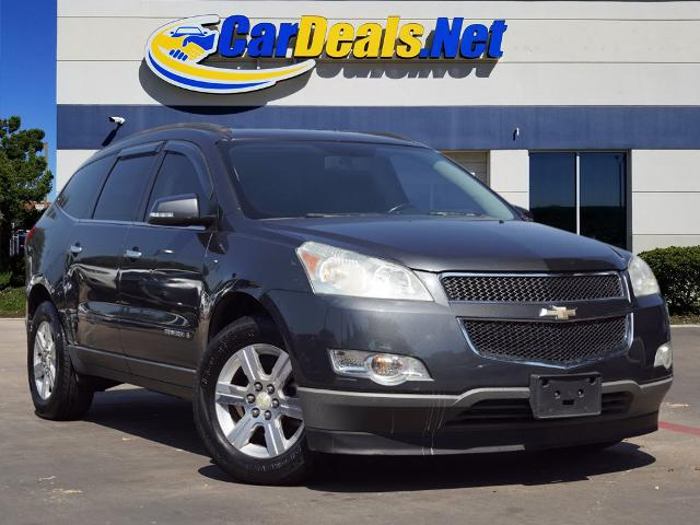 Used CHEVROLET TRAVERSE 2009 CARDEALS.NET PLANO LT