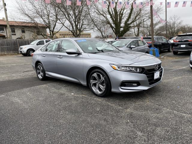 Lunar Silver Metallic 2018 Honda Accord Sedan EX-L NAVI 1.5T 4dr Car