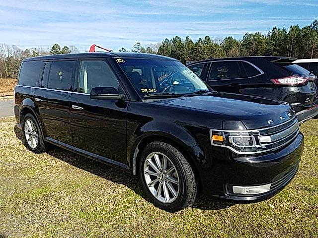 Agate Black 2019 Ford Flex LIMITED 4D Sport Utility Lexington NC